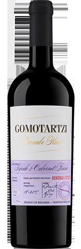 Gomotartzi Syrah & Cabernet Franc 2019 + GRATIS Mixkasse 12 stk. 375 ml. vine