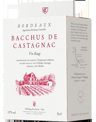 Bacchus de Castagnac Bag-in-box 3 liter