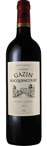 Chateau Gazin Rocquencourt Rouge 2012