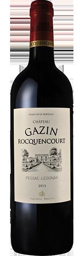 Chateau Gazin Rocquencourt Rouge 2013