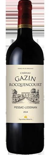 Chateau Gazin Rocquencourt Rouge 2014