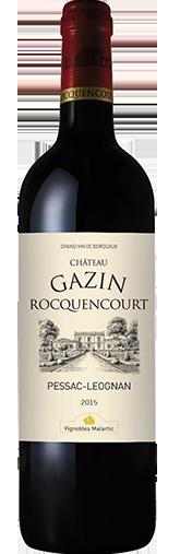 Chateau Gazin Rocquencourt Rouge 2015
