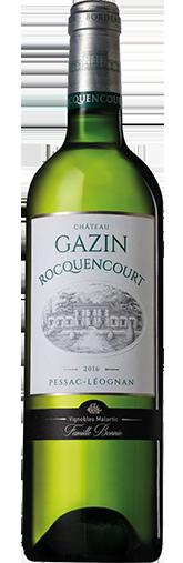Chateau Gazin Rocquencourt Blanc 2016