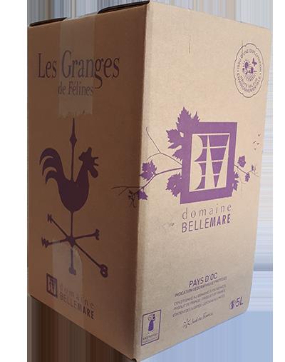 Les Granges Rosé Bag-in-box 5 Liter 2020