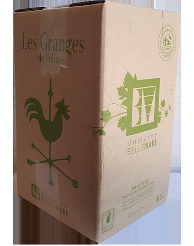 Les Granges Blanc Bag-in-box 5 Liter 2020