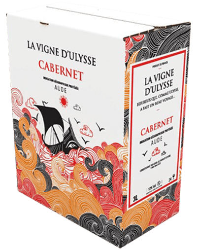 Box - Aude Cabernet Rouge - 10 liter