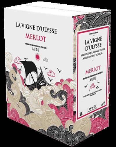Box - Aude Merlot Rouge - 5 liter