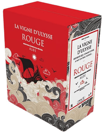 Box - Aude Rouge - 3 liter