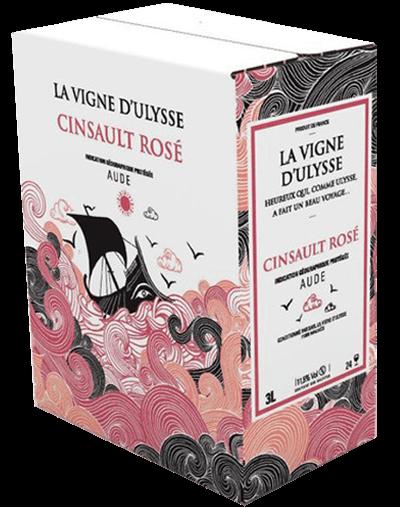 Box - Aude Cinsault Rose - 10 liter