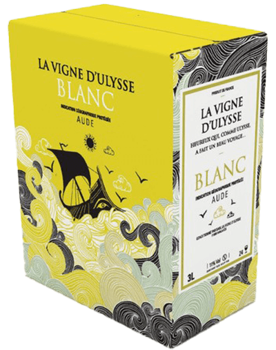Box - Aude Blanc - 10 liter