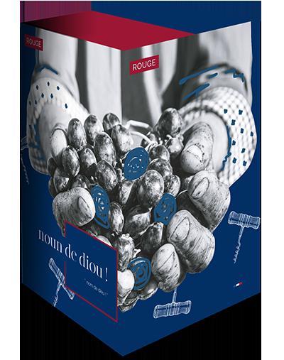 Box - Noun de Diou Rouge - 5 liter