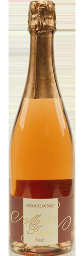 Cremant d'Alsace Rosé + GRATIS FLASKE Crémant Alsace Rosé