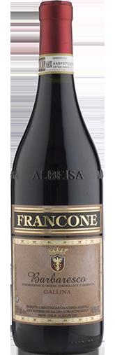 Barbaresco 'Gallina' 2018 + GRATIS KASSE Langhe Chardonnay Gallina Le Rose 2019