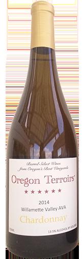 Oregon Terroirs Chardonnay Willamette Valley 2014