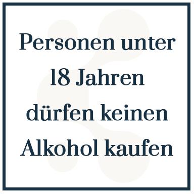 Alkohol +18 Jahren